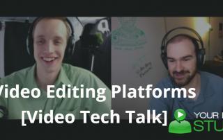 Video Editing Platforms