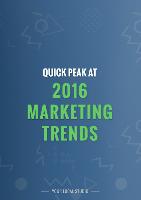 Guide to 2016 Marketing Trends