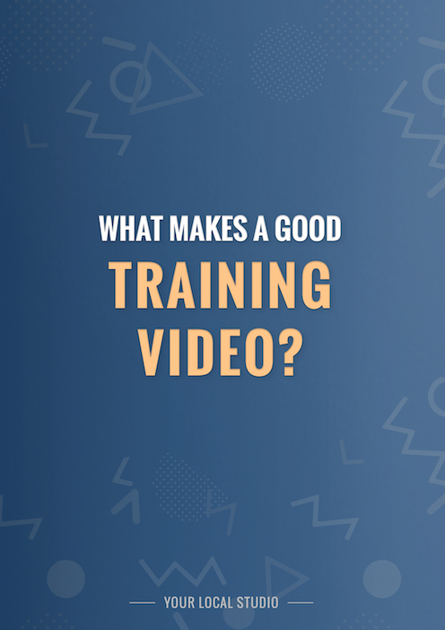 what makes a good training video