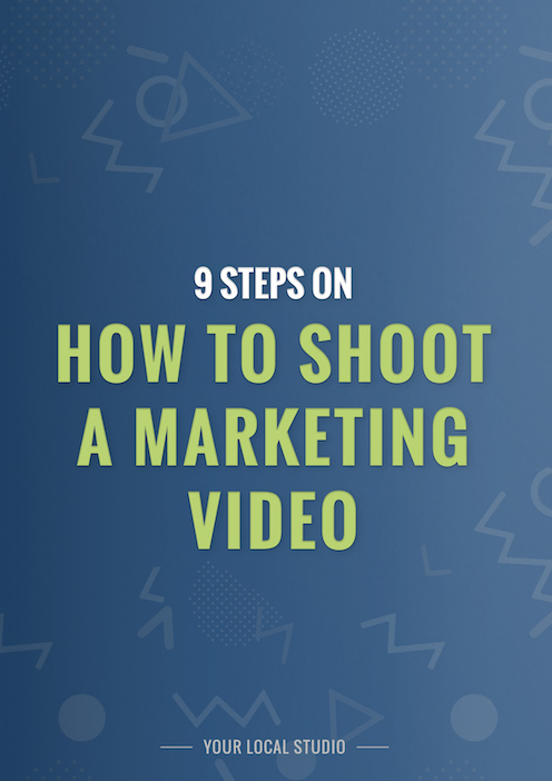 9 steps on how to shoot a marketing video