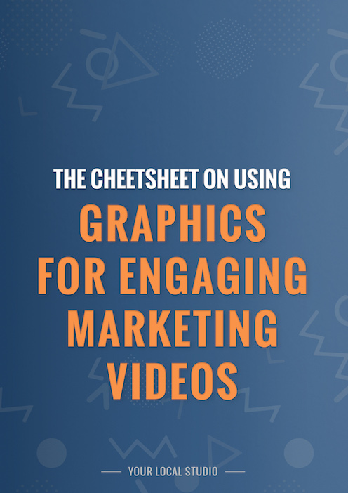 Graphics for engaging marketing videos