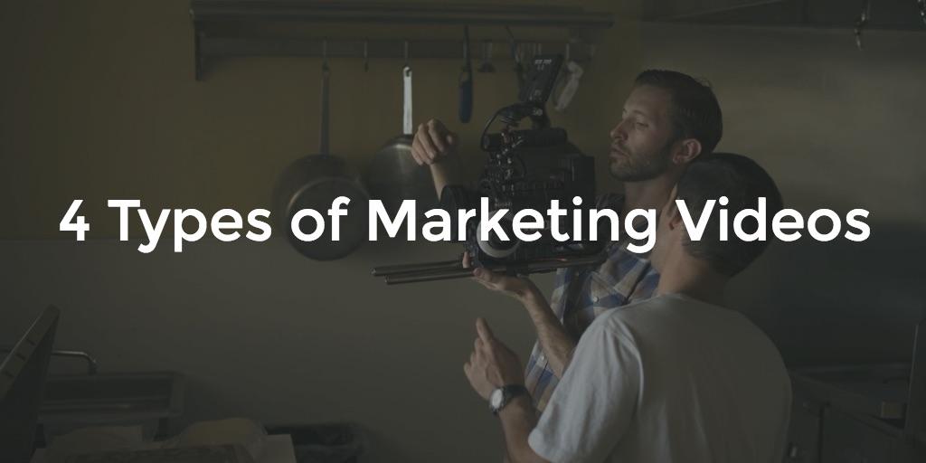 4 types of marketing videos
