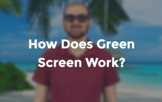 how does green screen work?