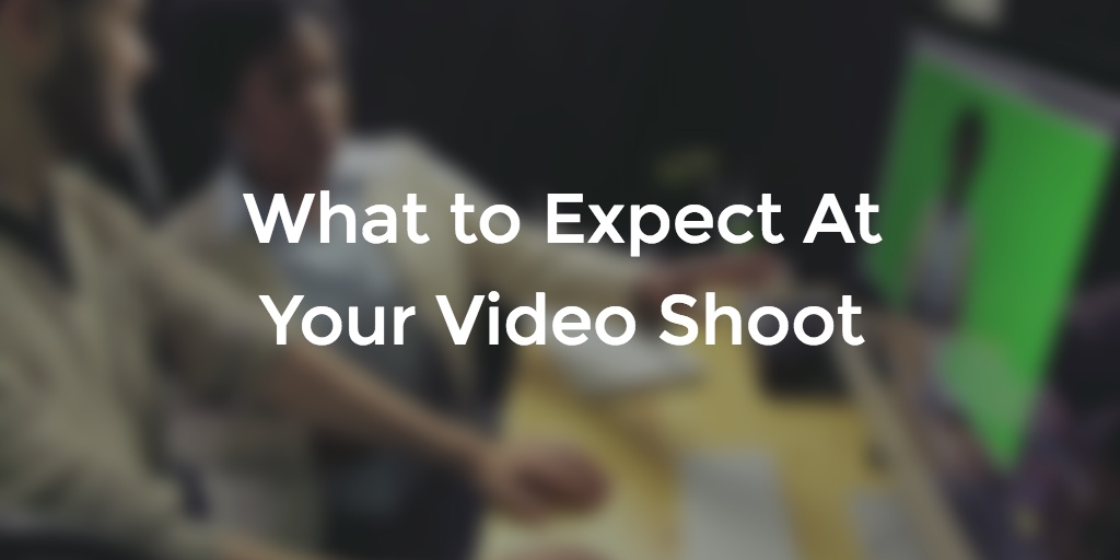 What to Expect At Your Video Shoot