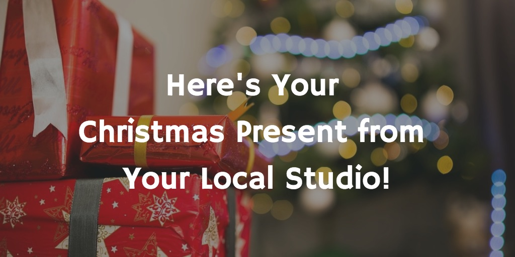 here's your christmas present from Your Local Studio!
