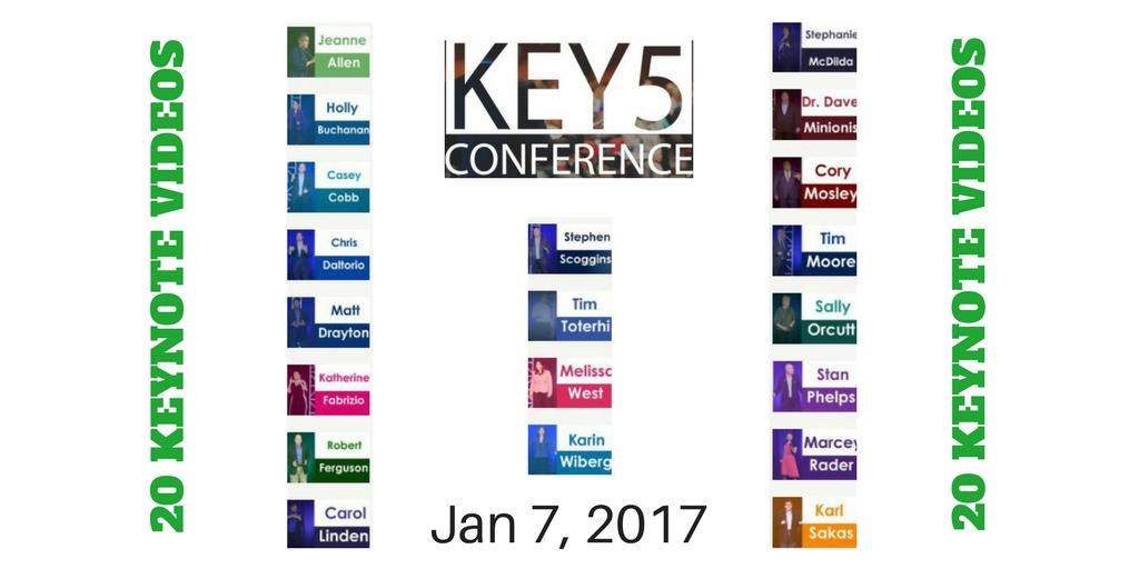20 Keynote Videos – KEY5 Speakers Conference