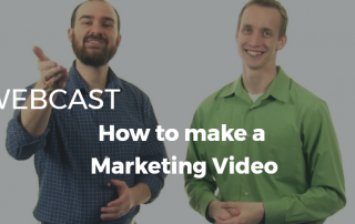 making a marketing video