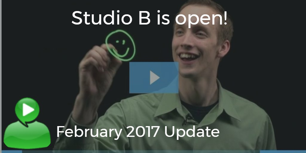 studio B is open in Cary - February 2017 Update