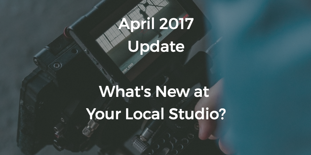 April 2017 Update- What's new?
