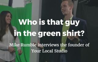 guy green shirt