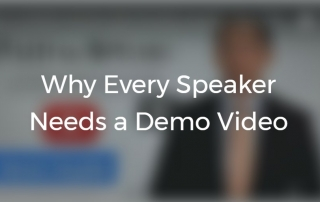 why every spaker needs a demo video by Kevin C Snyder