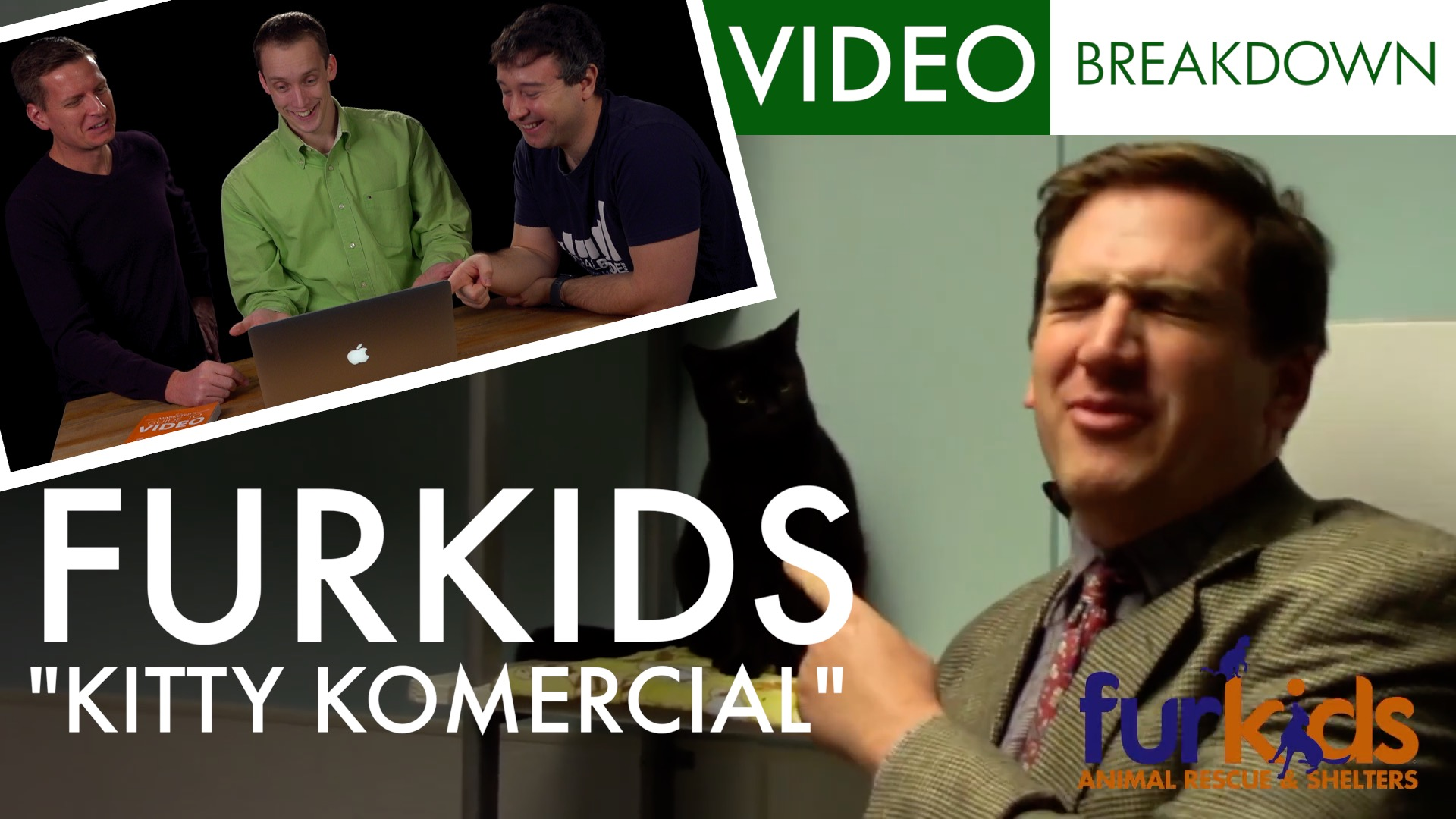 Furkids Kitty Kommercial Video Marketing Breakdown | Ep 3