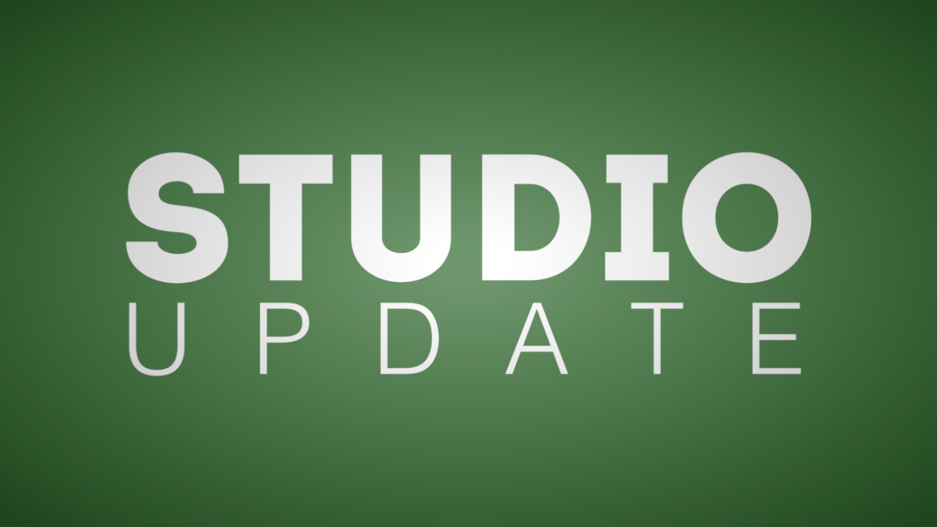 New video series and more! [Studio Update]